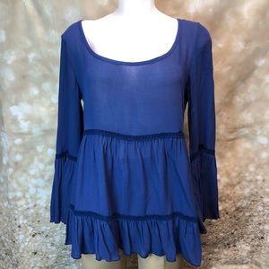 Women Liberty Love, blouse size small